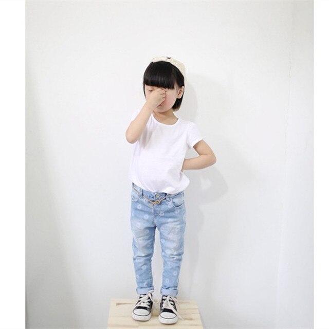 5ff17a89e SHUZHI Hot Fashion Baby girl jeans kids girls leggings jeans flower kids  denim pants Children skinny jeans for girls