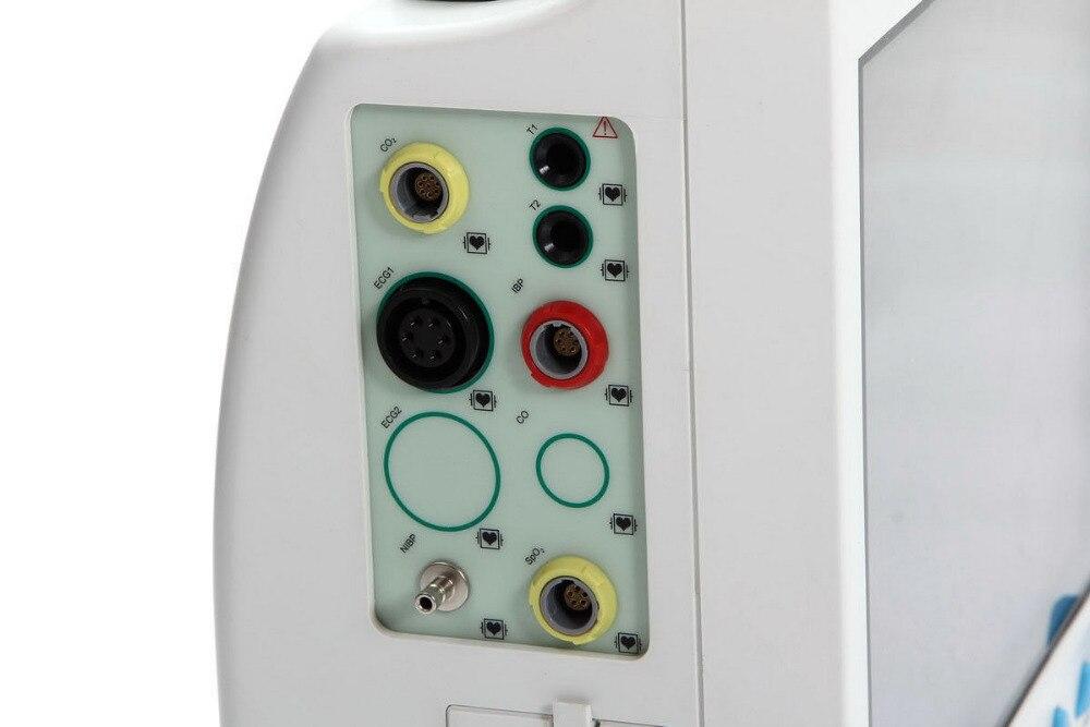 "Free Shipping CE&FDA 12.1"" ICU/CCU Multi-Parameter Vital Signs Patient Monitor CONTEC CMS8000"