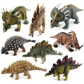 8 Styles Action Figure Plastic Jurassic Dinosaurs Saichania Stegosaurus Styracosaurus about 16cm Dolls Collection Gift F3