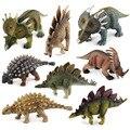 8 Styles Action Figure Plastic Jurassic Dinosaurs Saichania Stegosaurus Styracosaurus about 16cm Dolls Collection Gift F3
