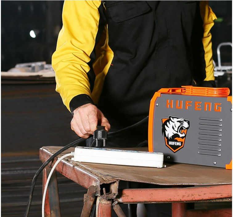 HUFENG сварщик IGBT Портативный 4.6KVA AC220V Arc Электрический сварочный аппарат MMA сварки для сварки работы и электрические рабочие