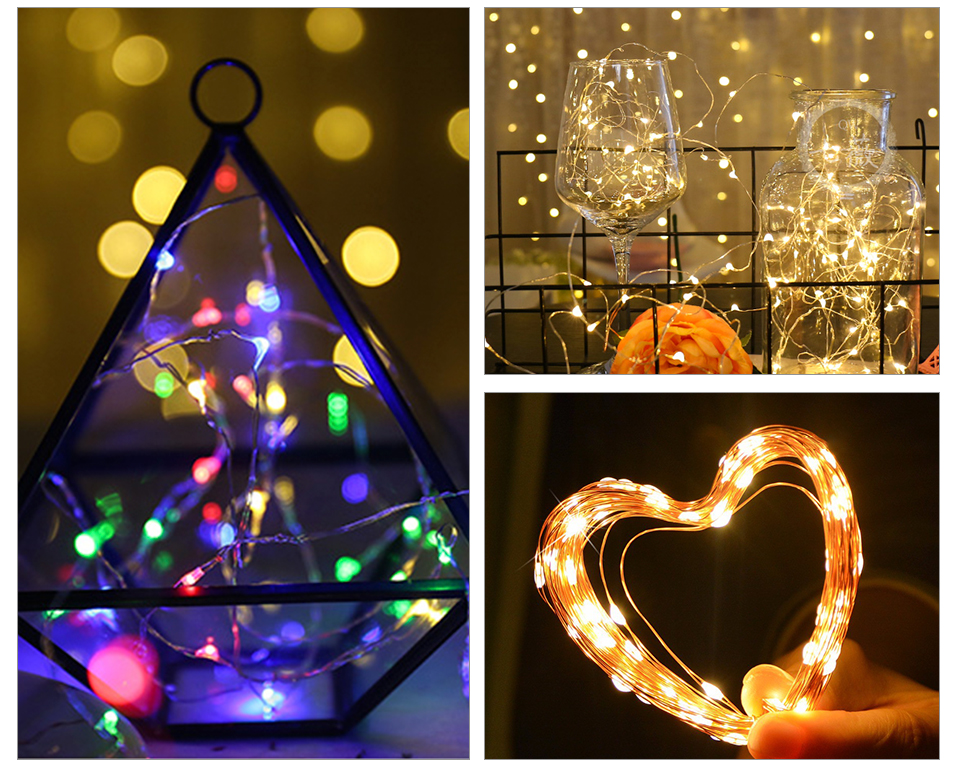 10M 20M Solar Power LED Garland Christmas Tree Fairy String Lights Chain Copper Wire Home Outdoor Christmas Holiday Decoration (13)