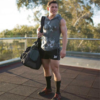 2018 Men S Fitness Shorts Pocket Bodybuilding Male Athletes Gold Medal Athletes Fitness