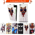 High quality fashion cartoon pattern flip up and down leather case for Ark Impulse P1 Plus LTE,Free gift