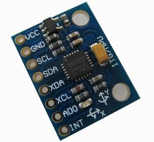 LiebenswüRdig Gy-521 Mpu-6050 Mpu6050 Modul 3 3-achsen-gyro-sensoren Analog Videospiele 3 Achsen Beschleunigungsmodul Fest In Der Struktur