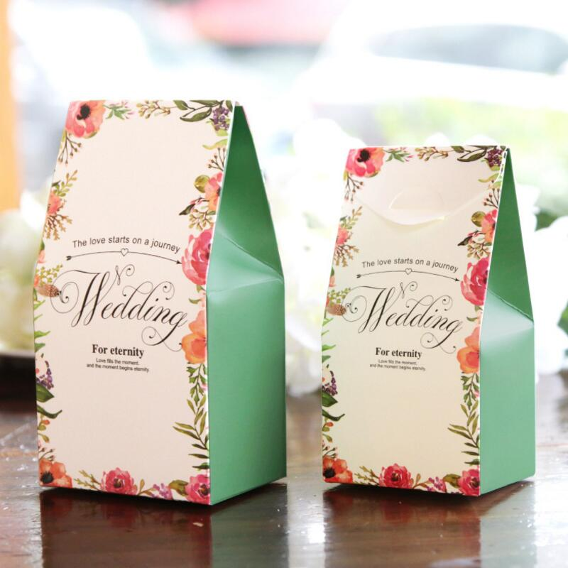 Aliexpress.com : Buy 20pcs/lot Wedding Personalized Gift Box Paper ...