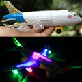 Electric universal rotating light music Airbus airbus electric toy