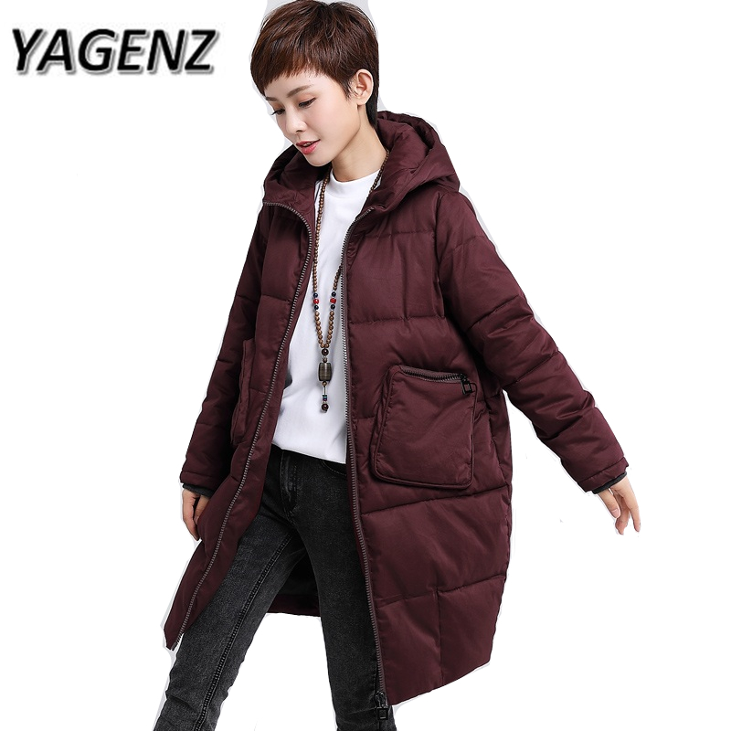 bcb9ca2f5a6cf 2018 New Winter Women Jackets Warm Hooded Coats Large Size 5XL Fashion  Loose Thick Lady Cotton