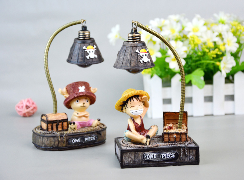 Creative Cartoon Night Light Japanese Anime Small Night Lights For Kids Children Birthday Christmas Gift Resin Ornaments Crafts (1)