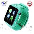 Bebé inteligente Reloj ZW67 GPS Cámara Smartwatch SOS de Localización de Posición Rastreador Kid Safe Anti-Perdido Monitor Para iOS Android niños