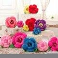Flores Juguetes de peluche y Felpa Rosa Almohada, de peluche y Felpa Cojín 6 unids Tipos De Colores de san Valentín Regalos de Navidad Throw Pillow Cojín