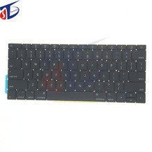 New original for macbook pro 13inch retina A1708 keyboard US USA America layout without backlight 2016 2017year