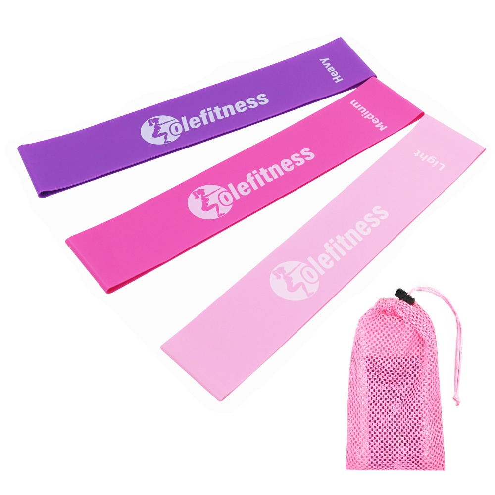 Yoga Pink Resistance Bands Set Fitness Yoga Stretch Loop Latex Strap for Pilates Legs Thigh Arms and Butt Home GYM AccessoriesYoga Pink Resistance Bands Set Fitness Yoga Stretch Loop Latex Strap for Pilates Legs Thigh Arms and Butt Home GYM Accessories
