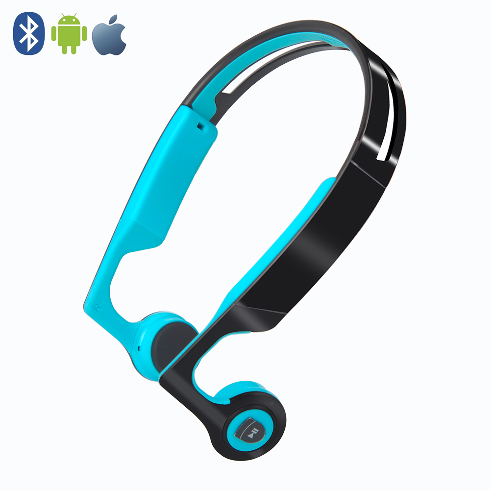 ES268 Wireless Bluetooth Earphone Intelligent Stereo Bone Conduction Headphones Sport Headset For IOS Android Phone z8 bluetooth headphones bone conduction earhook earphone bluetooth 5 0 sweatproof hands free outdoor sport headset