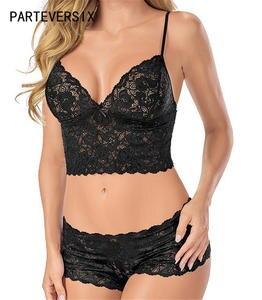 5fdfc60312abc6 PARTEVERSIX Sexy Lace Women Lingerie Underwear Briefs