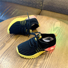 High Quality Luminous Sneakers for Kids Shoes Casual Children Boys and Girls Fashion Sport