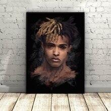 XXXTentacion Jahseh Dwayne Onfroy Art Silk Poster Home Decor 12×18 20x30inch