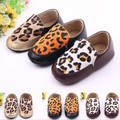 Fashion Leopard Baby Shoes Handsome PU Boy Prewalker Shoes//