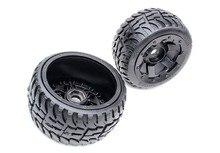 Neumático de la rueda trasera en carretera para 1:5 escala HPI Baja 5B Rovan KM camión 170X80