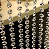 33 FT Crystal Clear Acrylic Bead Garland Chandelier Hanging For Party Wedding Decoration Supplies Garland 10M