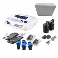 Foot Spa Machine Professional Deep Cleansing Ionic Detox AH 805D Dual Screen Display with Two Pairs Massager Slippers