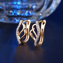 Clip Earrings For Women Earring With Austrian Crystal