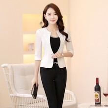 8183cb35674e3 Buy formal uniform female blazers and get free shipping on ...