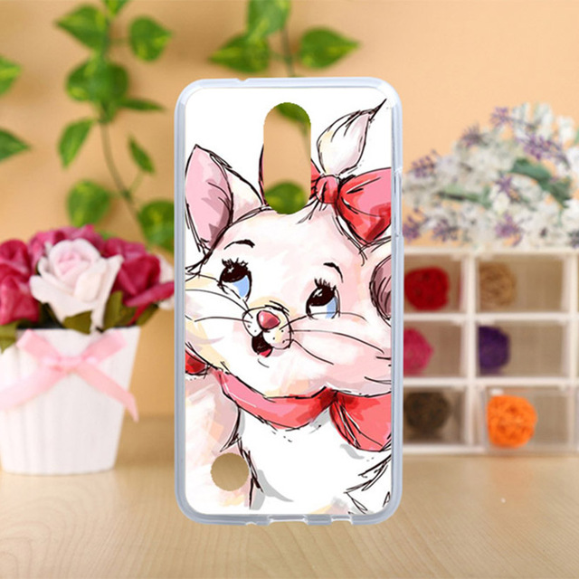 AKABEILA Case For LG K4 2017 LV1 M160 LG Phoenix 3 USA Version LG Fortune Cases Silicone TPU Covers Painted Pigs Cat Tiger