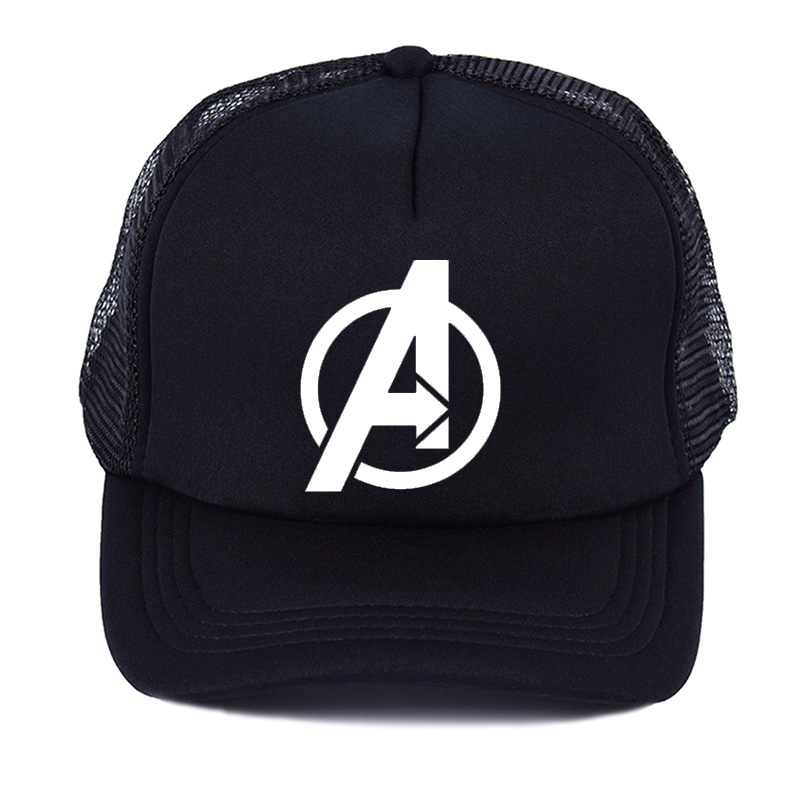 Summer Mesh Net Trucker   Cap   Hat for Men Movie Avengers Accessories   Baseball     Cap   anniversary   cap   Marvel HeroesHat Trucker   Caps