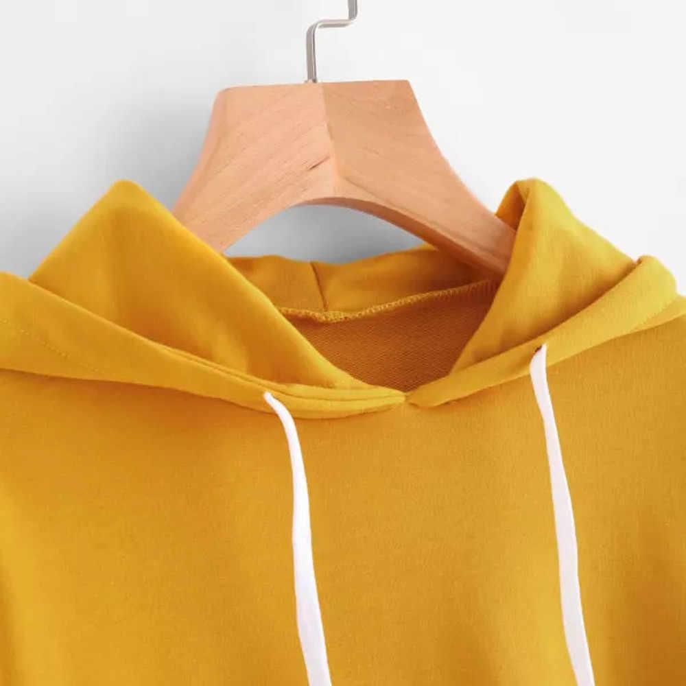 CHAMSGEND moda bluzy bluzy z kapturem blackpink kpop harajuku wschodnim wybrzeżu litery drukowane z długim rękawem jesień bluza z kapturem F722