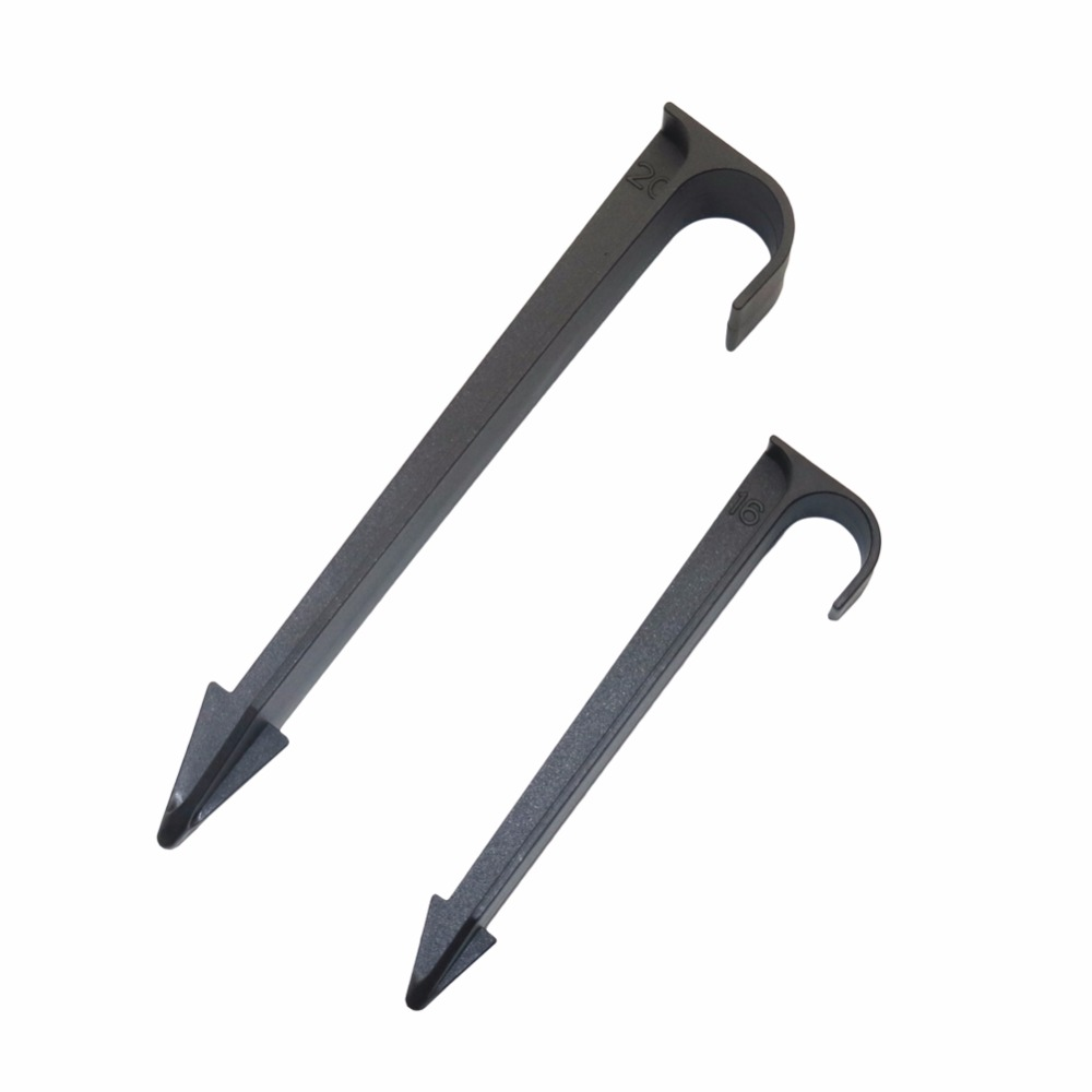 20 Pcs DN16,DN20 Tube Pipe LDPE Hose Holder Brackets Ground Drip Pipe Support Bracket For Securing Drip Micro Irrigation