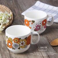 Цветок серии, костяного фарфора, творческая чашка кофе, европейский стиль кофе, костюм для кофе и чай черный, Бесплатная доставка