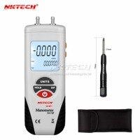 LCD air manometer pressure gauge Mini pressure differential meter digital pressure gauge manometer Data Hold 11 Units