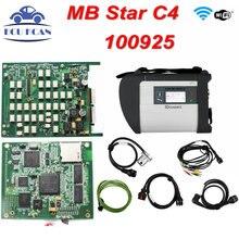 Wysoka Jakość MB Gwiazda C4 SD Pełne Wiórów Wielu Językach Dla CAR & TRUCK Rozbudowanymi funkcjami MB SD Połącz Compact 4 MB Gwiazda C4 DHL bezpłatne