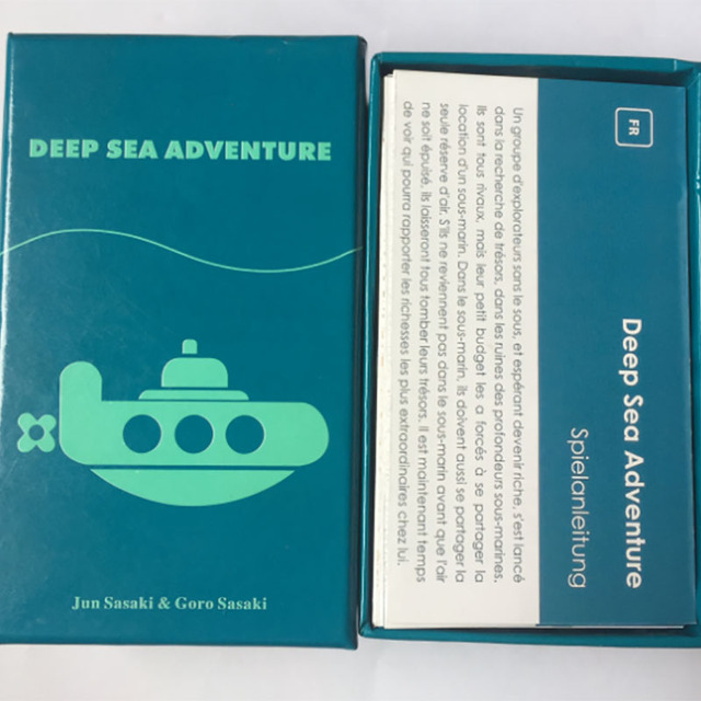 2-6 Players Family/Party Best Gift for Children Funny English Game Deep Sea Adventure Board Game