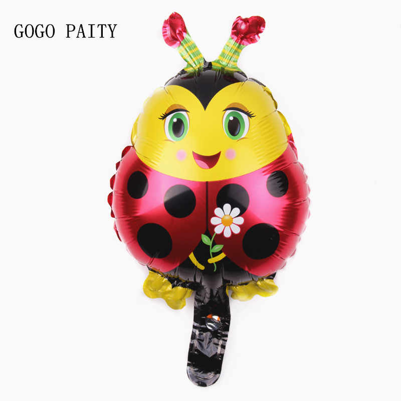 GOGO PAITY Free Shipping New Mini Bee Boat Aluminum Foil Balloon Children Toy Birthday Party Wedding Decoration Balloon