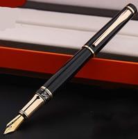 High Quality HERO 1021 Fountain Pen Metal Ink Pen lraurita Nib Signning Pen Business Gift Box Student Writing Stationery