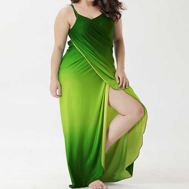 6b8a90654950b ... Plus size Cover Up Robe Plage Gradient color Beach Long Dress Pareos  Women Tunic Sarong Bathing