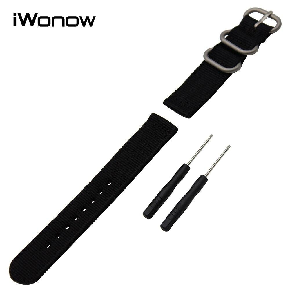 Genuine Nylon Watchband Tool for Garmin Fenix 5S 5 Epix Vivoactive HR Watch Band Zulu Strap