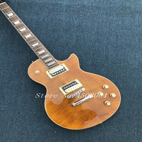 in stock 1959 R9 brown Burst Chinese Paul LP Style Standard Electric Guitar with EMS Free Shipping popular