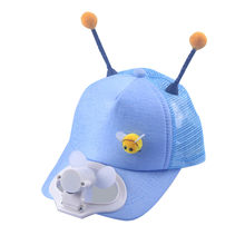 KANCOOLD Fishing Summer Sport Hat Cap With Fan For Children Cap Cycling Energy Save No Batteries Required 2019 New Fashion(China)