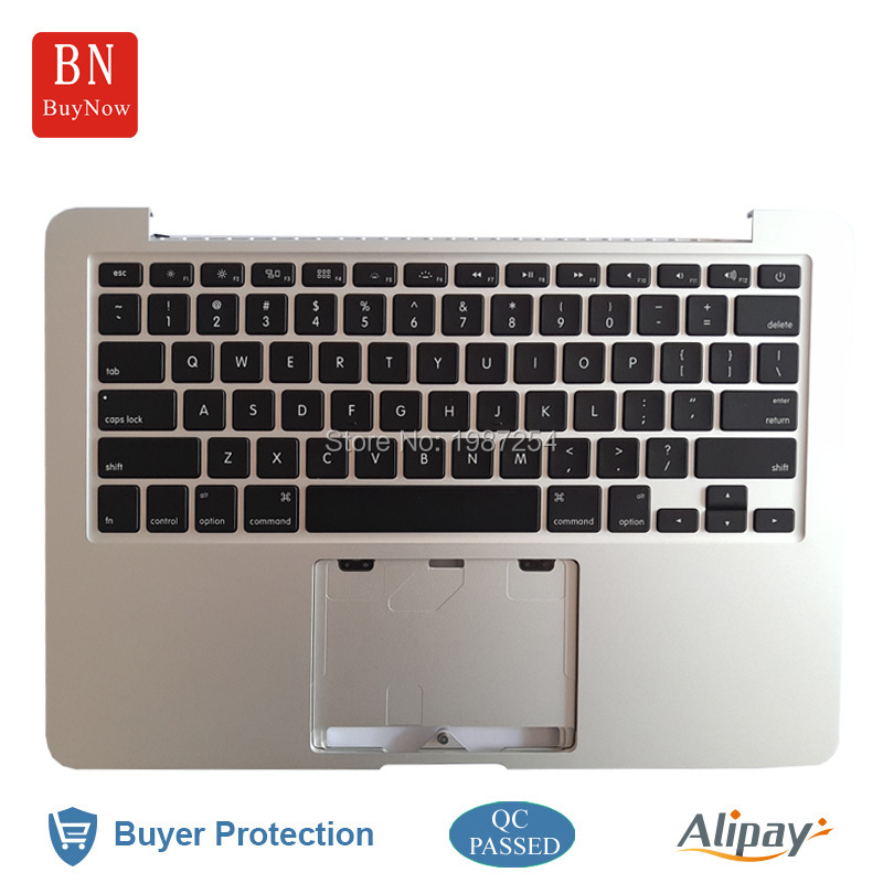 ФОТО Original For Apple Macbook Pro Retina 13'' A1502 Palmrest Top Case With Keyboard US Version 2013 2014 Year