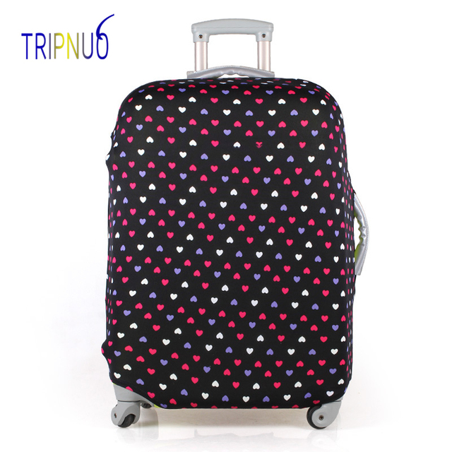 TRIPNUO Little Love Luggage Cover Dust-proof Travel Bag Cover 18-30 Inch Pink Suitcase Protective Covers Portable Luggage Covers