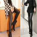 2017 new gothic Faux Leather Leggings Stretch Material Polyester Pencil fitness Leggings women Sexy Leggings Women Free Size