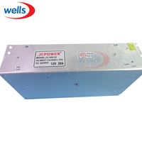 12 V 25A 300 W LED Alimentation AC DC 110/240 V Réglementé commutation Transformateur LED Adaptateur de Pilote Pour LED Bande Lumière Module lampe