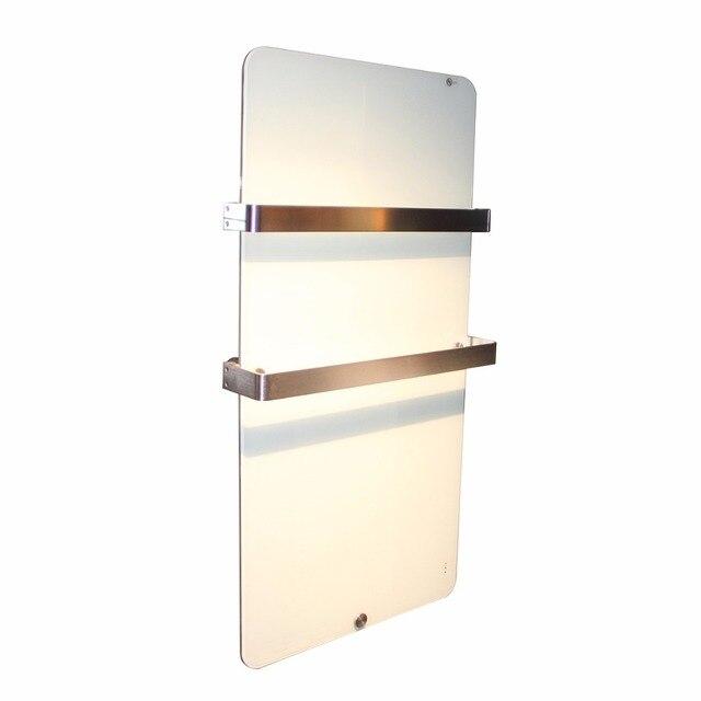 Elektrische Infrarood Verwarming 600 W Badkamer Glas Radiator met ...