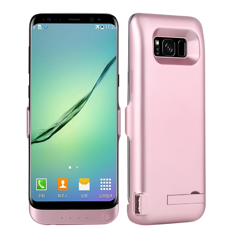 For font b Galaxy b font font b S8 b font plus Case 6500mAh Battery Charger
