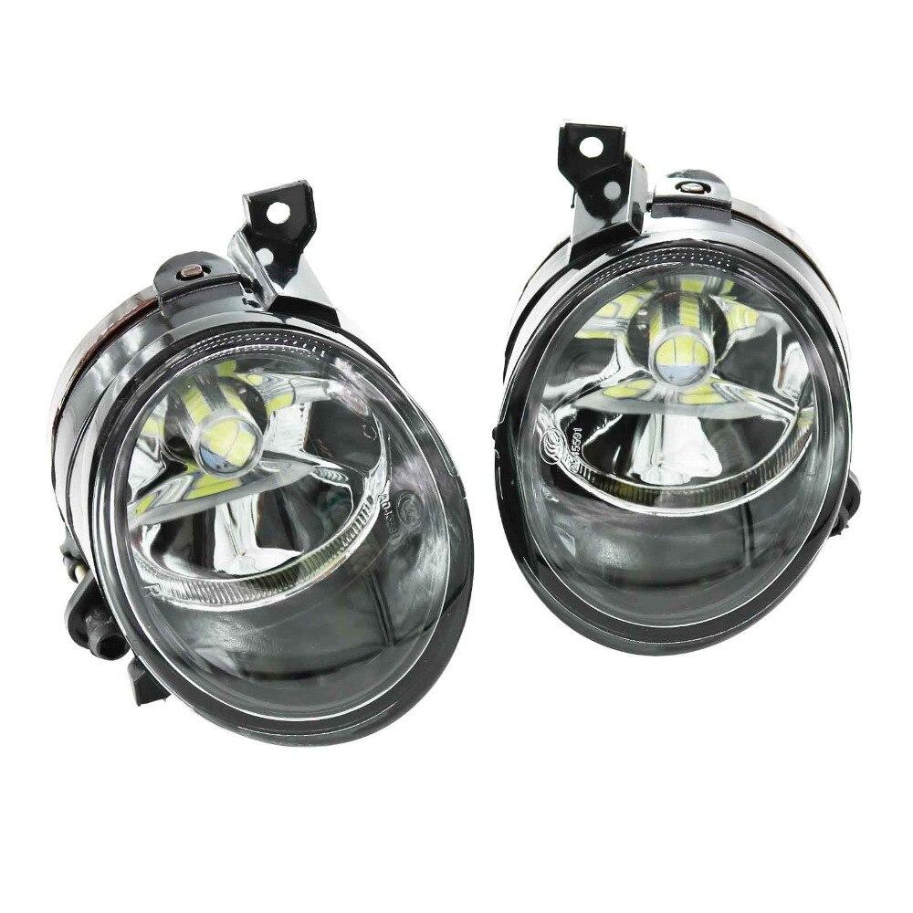 ل VW جيتا 5 جيتا MK5 2006 2007 2008 2009 2010 2011 سيارة التصميم H11 LED لمبات الجبهة LED الضباب مصباح إضاءة للضباب