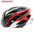 24 вентиляционных отверстия велосипедный шлем сверхлегкий для мужчин и женщин мужские MTB шоссейные велосипедные шлемы интегрально-Литые ве...