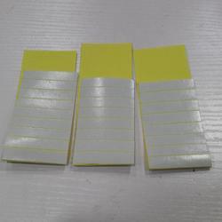 60 قطعة 4 سنتيمتر X0.8cm لاصق الشريط المزدوج القوي للبشرة لحمة الشعر المستعار ملحقات الشريط المزدوج الشعر ريمي الشعر